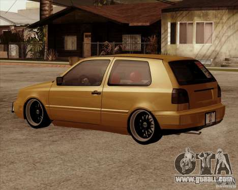 VW Golf MK 4 low & slow for GTA San Andreas left view