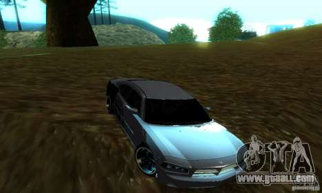 Dodge Charger SRT8 Mopar for GTA San Andreas right view