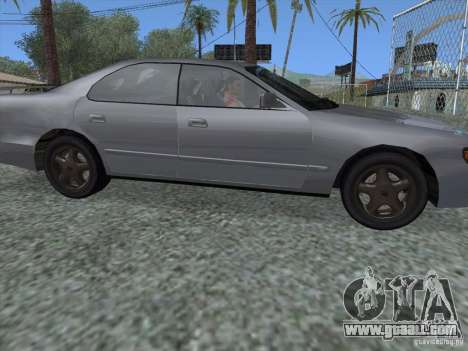 Toyota Chaser JZX90 Stock for GTA San Andreas back left view