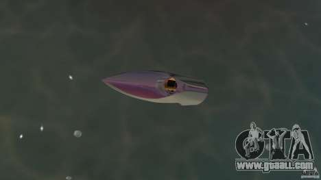 Bugatti Sang Bleu Speedboat for GTA Vice City right view