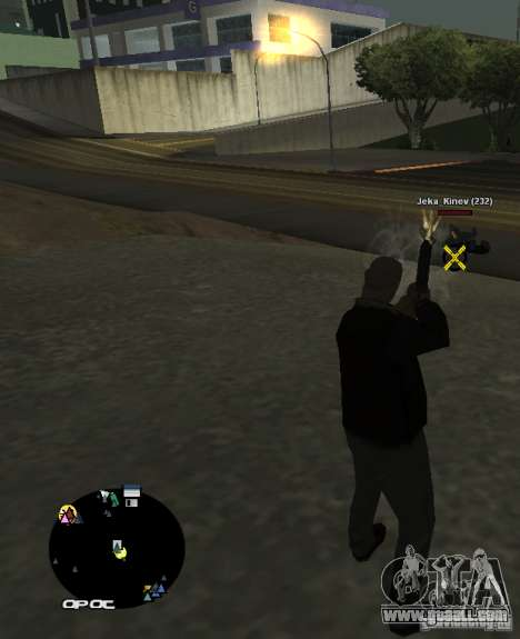 HUD №2 for GTA San Andreas