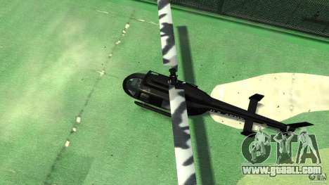 Black U.S. ARMY Helicopter v0.2 for GTA 4 inner view
