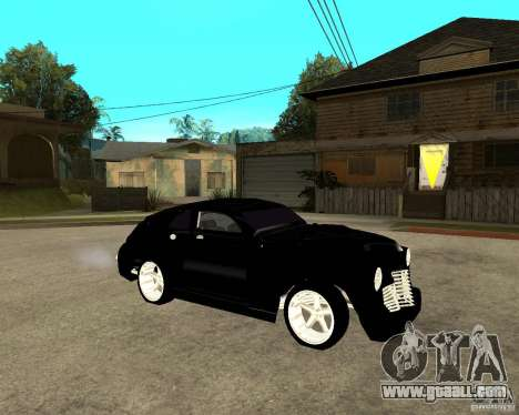 GAZ M20 (win) + tuning for GTA San Andreas right view