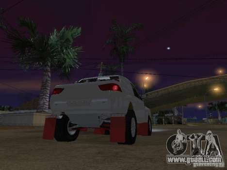 Mitsubishi L200 Triton for GTA San Andreas back left view