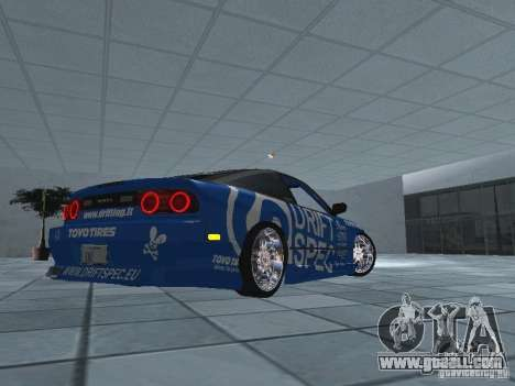 Nissan RPS13 Drift Spec for GTA San Andreas back view