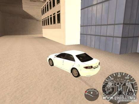 Mazda 6 2004 for GTA San Andreas left view