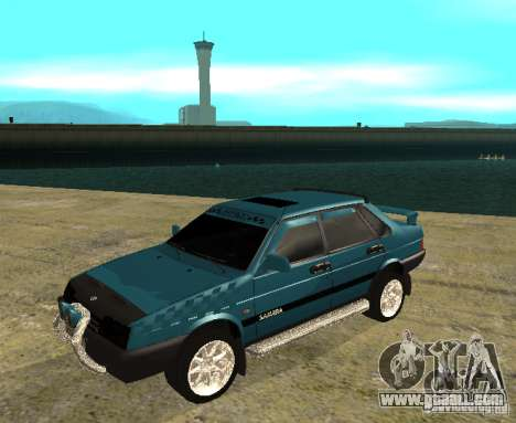 VAZ 21099 sparco tune for GTA San Andreas