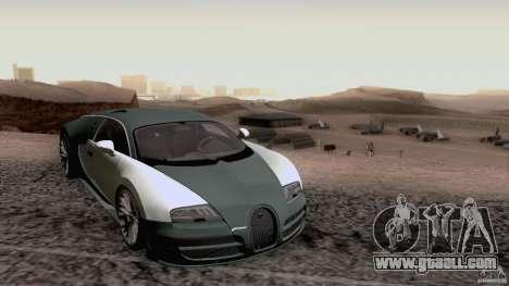 Bugatti ExtremeVeyron for GTA San Andreas