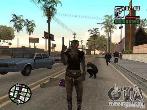 Zombe from Gothic for GTA San Andreas second screenshot
