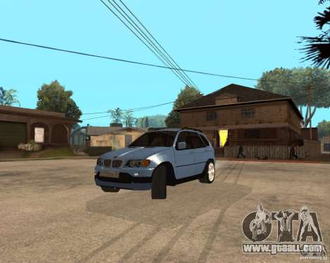 BMW X5 for GTA San Andreas side view