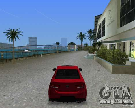 Kia Forte Coupe for GTA Vice City left view