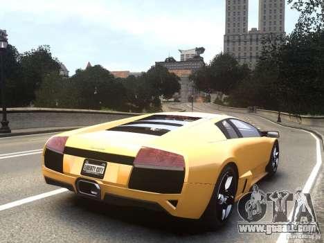 Lamborghini Murcielago LP640 2007 for GTA 4 left view