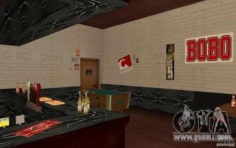A new bar in Gantone v. 2 for GTA San Andreas fifth screenshot