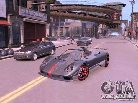 Pagani Zonda Cinque Roadster v 2.0 for GTA 4