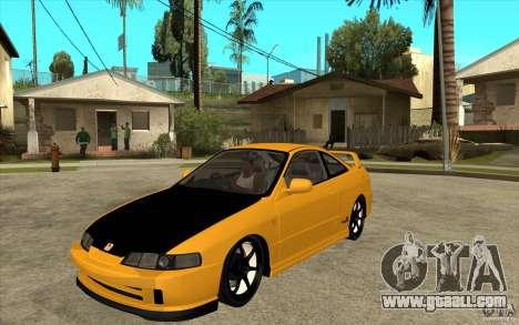 Honda Integra Spoon Version for GTA San Andreas