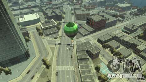 Balloon Tours option 3 for GTA 4 back left view