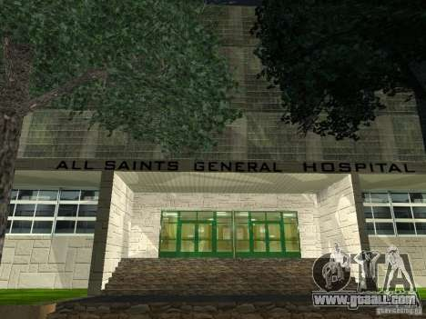 The New Hospital for GTA San Andreas third screenshot