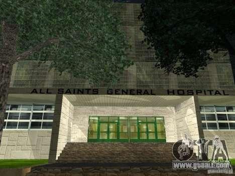 The New Hospital for GTA San Andreas third screenshot