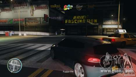 Coloured Radio HUD for GTA 4 fifth screenshot