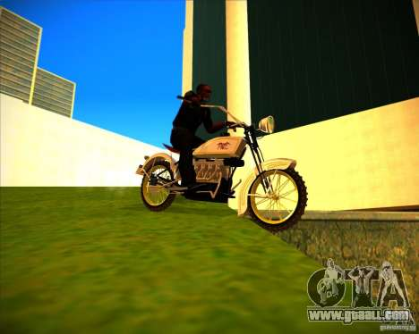 1923 ACE 1200cc for GTA San Andreas back view