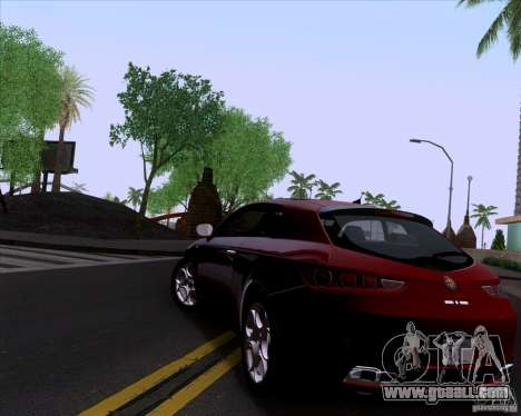 Alfa Romeo Brera for GTA San Andreas right view