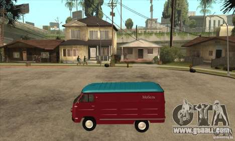 YERAZ 762 in for GTA San Andreas left view