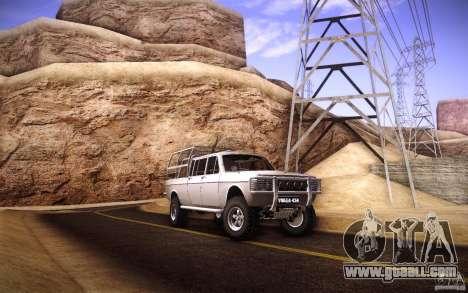 GAZ 2402 4 x 4 PickUp for GTA San Andreas upper view