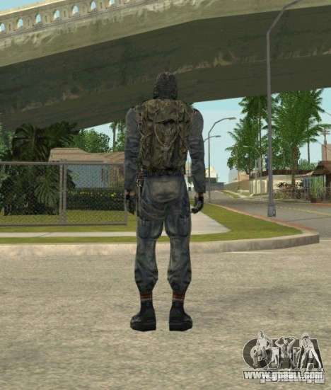 Grouping of Mercenaries from a stalker for GTA San Andreas eleventh screenshot