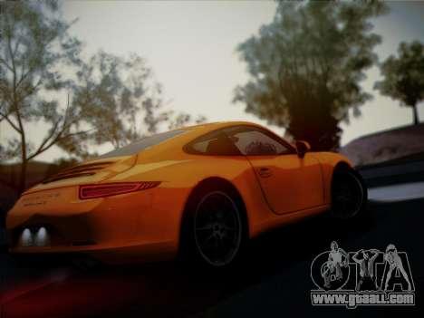 Porsche 911 (991) Carrera S for GTA San Andreas side view