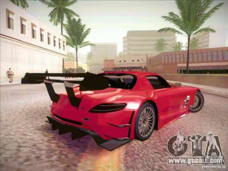Mercedes-Benz SLS AMG GT-R for GTA San Andreas right view