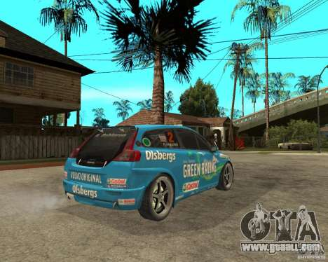 VOLVO C30 STCC for GTA San Andreas back left view