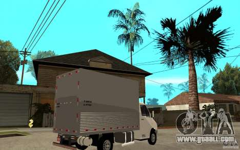 Mercedes-Benz Sprinter Truck for GTA San Andreas right view