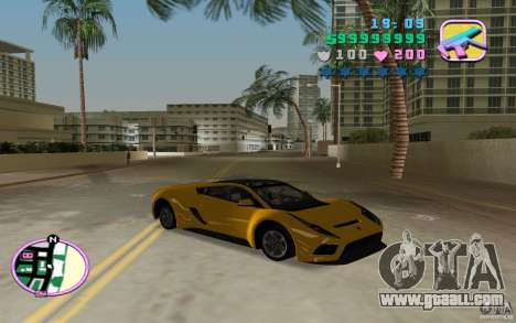 Saleen S5S Raptor for GTA Vice City back left view