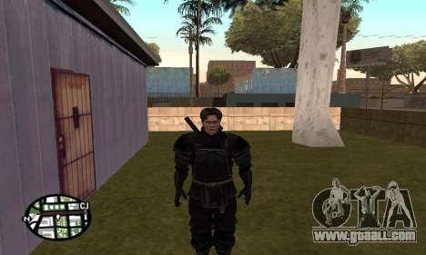 Dark Knight Skin Pack for GTA San Andreas tenth screenshot