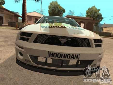 Ford Mustang Ken Block for GTA San Andreas