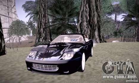 Ferrari 575M Maranello for GTA San Andreas