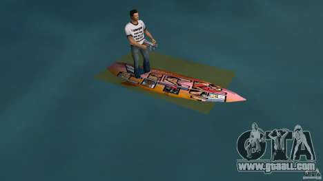 Surfboard 1 for GTA Vice City left view