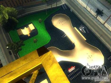 New BMX Park for GTA San Andreas second screenshot