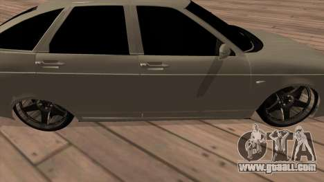 LADA Priora 2172 for GTA San Andreas