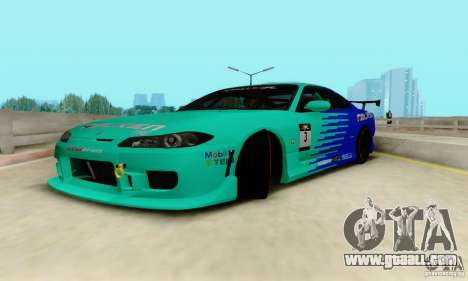 Nissan Silvia S15 Tunable for GTA San Andreas side view