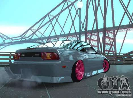 Nissan 240SX Team Top Flight for GTA San Andreas right view