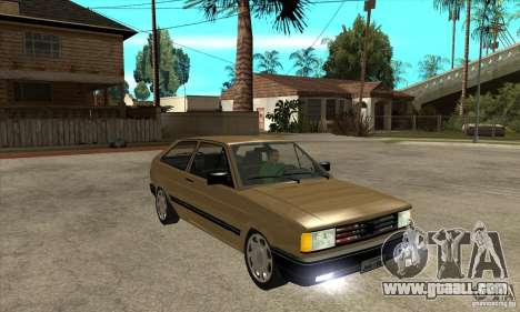 VW Gol GL 1.8 1989 for GTA San Andreas back view