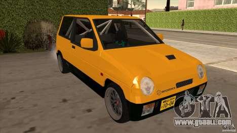 Suzuki Alto Euro for GTA San Andreas back view