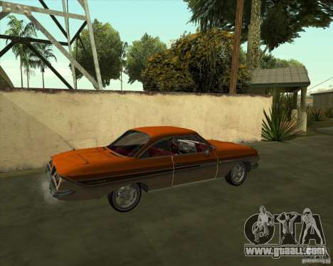 Chevrolet Impala SS 1961 for GTA San Andreas left view