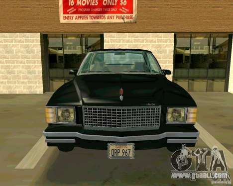 Chevrolet Monte Carlo 1979 for GTA San Andreas back left view