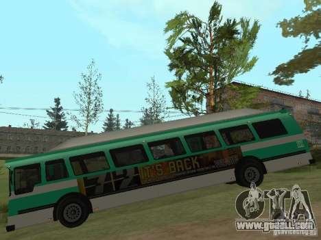 Bus from GTA 4 for GTA San Andreas back left view