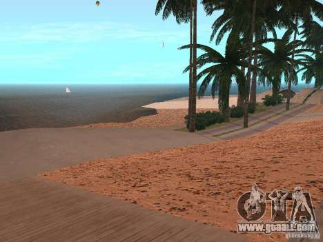 HQ Beach v1.0 for GTA San Andreas second screenshot