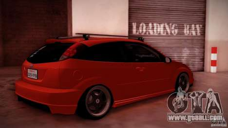 Ford Focus SVT Clean for GTA San Andreas inner view