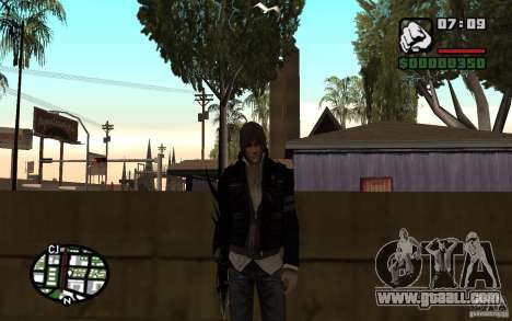 Alex Mercer for GTA San Andreas second screenshot