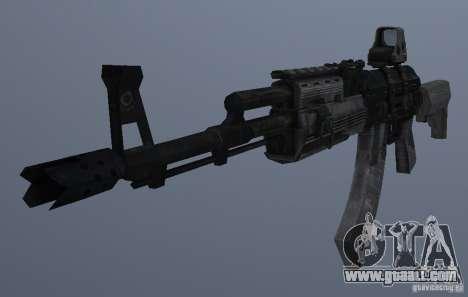 AK47+Holographic sight for GTA San Andreas third screenshot